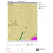 M 36-d1 Paftası 1/25.000 ölçekli Jeoloji Haritası