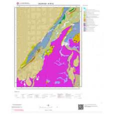 M 36-d2 Paftası 1/25.000 ölçekli Jeoloji Haritası