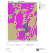 M 36-d3 Paftası 1/25.000 ölçekli Jeoloji Haritası