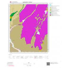 M 36-d4 Paftası 1/25.000 ölçekli Jeoloji Haritası