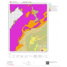M 37-d1 Paftası 1/25.000 ölçekli Jeoloji Haritası