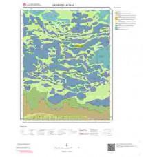 M38a3 Paftası 1/25.000 Ölçekli Vektör Jeoloji Haritası
