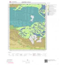 M38a4 Paftası 1/25.000 Ölçekli Vektör Jeoloji Haritası