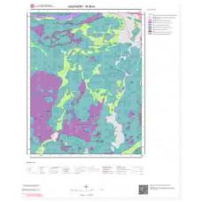 M38b1 Paftası 1/25.000 Ölçekli Vektör Jeoloji Haritası