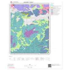 M38b2 Paftası 1/25.000 Ölçekli Vektör Jeoloji Haritası