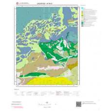 M38b3 Paftası 1/25.000 Ölçekli Vektör Jeoloji Haritası
