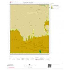 M38d1 Paftası 1/25.000 Ölçekli Vektör Jeoloji Haritası