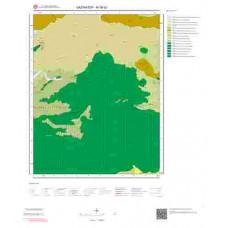 M38d3 Paftası 1/25.000 Ölçekli Vektör Jeoloji Haritası