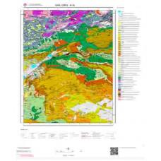 M 39 Paftası 1/100.000 ölçekli Jeoloji Haritası