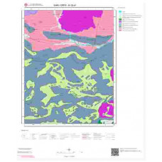 M39a1 Paftası 1/25.000 Ölçekli Vektör Jeoloji Haritası