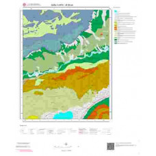 M 39-a4 Paftası 1/25.000 ölçekli Jeoloji Haritası