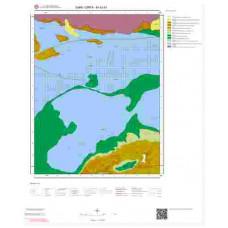 M40b1 Paftası 1/25.000 Ölçekli Vektör Jeoloji Haritası