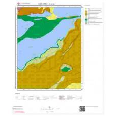 M40b2 Paftası 1/25.000 Ölçekli Vektör Jeoloji Haritası