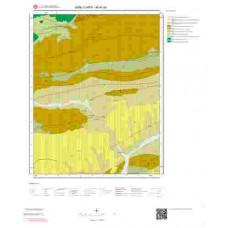 M40b4 Paftası 1/25.000 Ölçekli Vektör Jeoloji Haritası