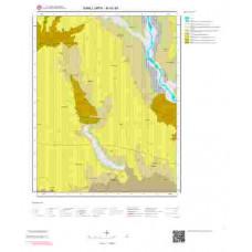 M40d4 Paftası 1/25.000 Ölçekli Vektör Jeoloji Haritası