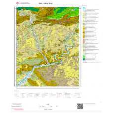 M41 Paftası 1/100.000 Ölçekli Vektör Jeoloji Haritası
