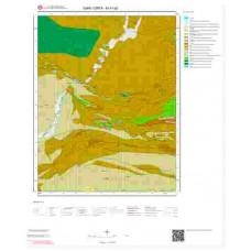 M41a2 Paftası 1/25.000 Ölçekli Vektör Jeoloji Haritası
