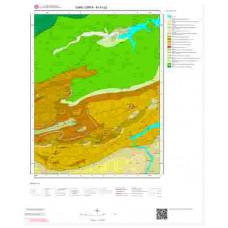 M41b2 Paftası 1/25.000 Ölçekli Vektör Jeoloji Haritası