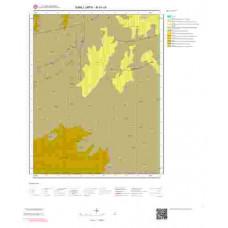 M41c4 Paftası 1/25.000 Ölçekli Vektör Jeoloji Haritası