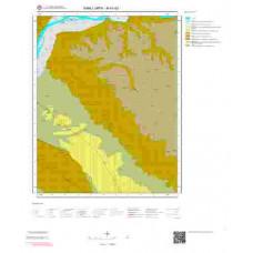 M41d3 Paftası 1/25.000 Ölçekli Vektör Jeoloji Haritası