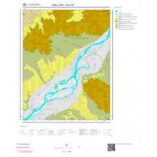 M41d4 Paftası 1/25.000 Ölçekli Vektör Jeoloji Haritası