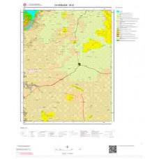 M42 Paftası 1/100.000 Ölçekli Vektör Jeoloji Haritası