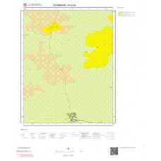 M42b4 Paftası 1/25.000 Ölçekli Vektör Jeoloji Haritası