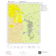 M43 Paftası 1/100.000 Ölçekli Vektör Jeoloji Haritası