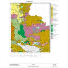 M 52 Paftası 1/100.000 ölçekli Jeoloji Haritası