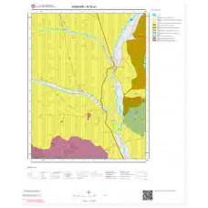 M52a1 Paftası 1/25.000 Ölçekli Vektör Jeoloji Haritası