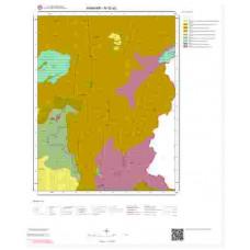 M52a2 Paftası 1/25.000 Ölçekli Vektör Jeoloji Haritası
