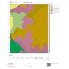 M52a3 Paftası 1/25.000 Ölçekli Vektör Jeoloji Haritası