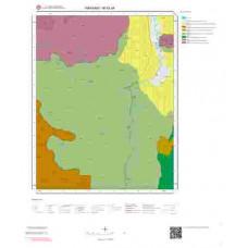M52a4 Paftası 1/25.000 Ölçekli Vektör Jeoloji Haritası