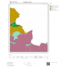 M52b3 Paftası 1/25.000 Ölçekli Vektör Jeoloji Haritası