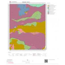 M52c1 Paftası 1/25.000 Ölçekli Vektör Jeoloji Haritası