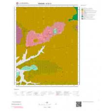 M52c3 Paftası 1/25.000 Ölçekli Vektör Jeoloji Haritası