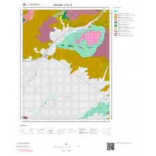 M52c4 Paftası 1/25.000 Ölçekli Vektör Jeoloji Haritası