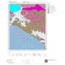N19a1 Paftası 1/25.000 Ölçekli Vektör Jeoloji Haritası