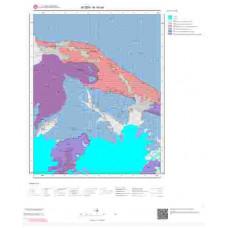 N19a4 Paftası 1/25.000 Ölçekli Vektör Jeoloji Haritası