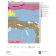 N19b3 Paftası 1/25.000 Ölçekli Vektör Jeoloji Haritası