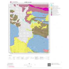 N19b4 Paftası 1/25.000 Ölçekli Vektör Jeoloji Haritası