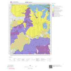 N19c1 Paftası 1/25.000 Ölçekli Vektör Jeoloji Haritası