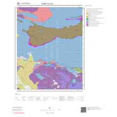 N19c2 Paftası 1/25.000 Ölçekli Vektör Jeoloji Haritası