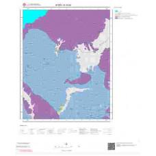 N19d4 Paftası 1/25.000 Ölçekli Vektör Jeoloji Haritası