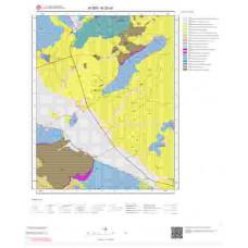 N20a3 Paftası 1/25.000 Ölçekli Vektör Jeoloji Haritası