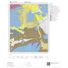 N20a4 Paftası 1/25.000 Ölçekli Vektör Jeoloji Haritası