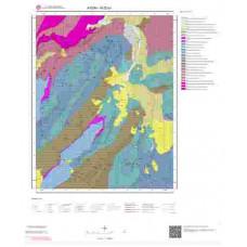 N20b1 Paftası 1/25.000 Ölçekli Vektör Jeoloji Haritası
