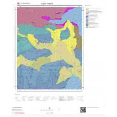 N20b2 Paftası 1/25.000 Ölçekli Vektör Jeoloji Haritası