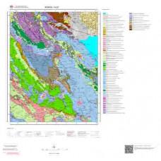 N27 Paftası 1/100.000 Ölçekli Vektör Jeoloji Haritası