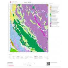 N27a1 Paftası 1/25.000 Ölçekli Vektör Jeoloji Haritası